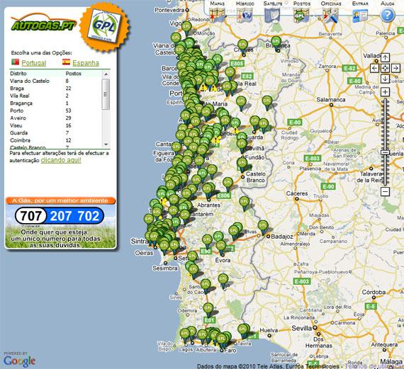gpl portugal mapa MasterGás   Abastecimento GPL gpl portugal mapa