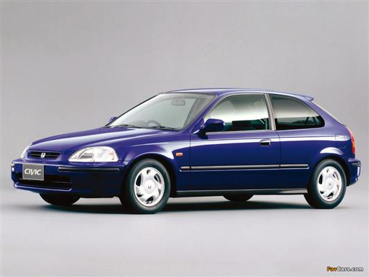 Civic (Hatchback/Sedan/Coupé) (1995-2001)